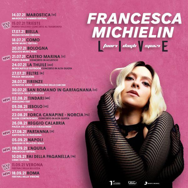 francesca michielin tour