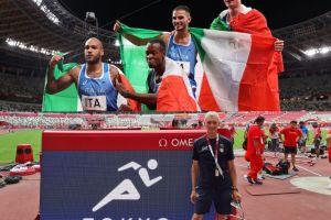 staffetta oro olimpiadi