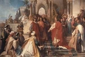 Georg von Ramberg - The Court of Emperor Frederick II in Palermo