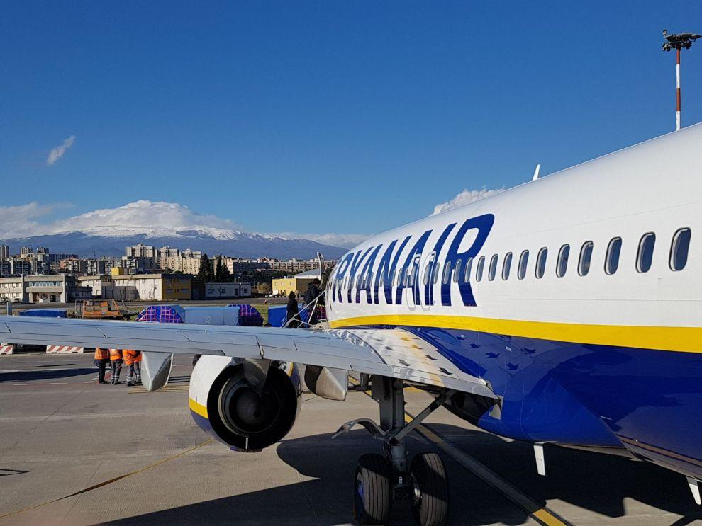 aereo ryanair catania