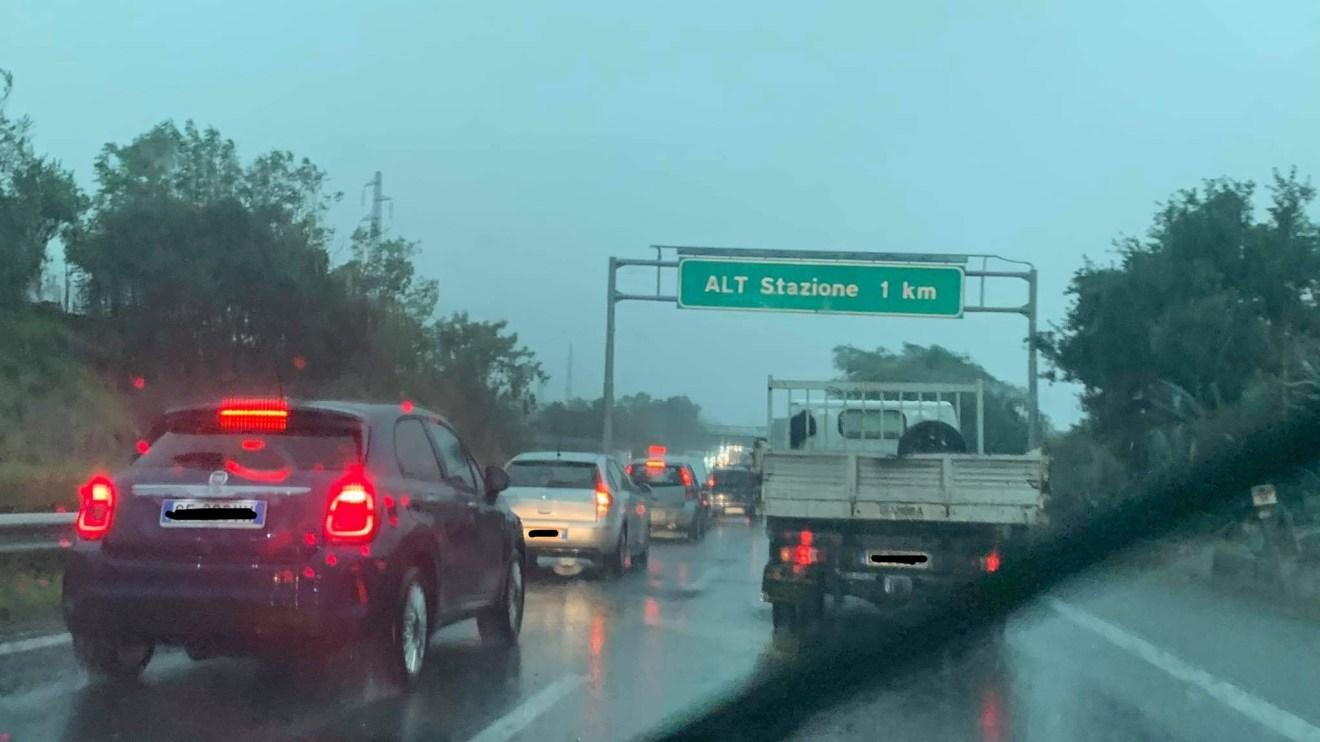 autostrada maltempo