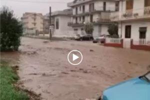 maltempo sicilia alluvione