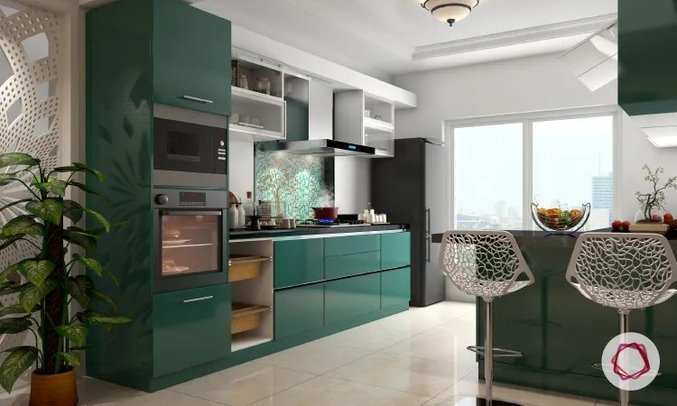 acrylic kitchen cabinets open designs in small apartments straight with interior design ideas