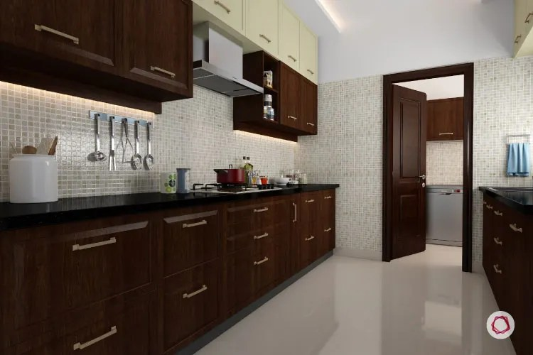 Small Parallel Kitchen Design