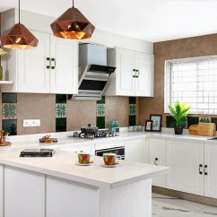 Kitchen Design Bangalore Remodeling Tips White With Transitional Details Open Style