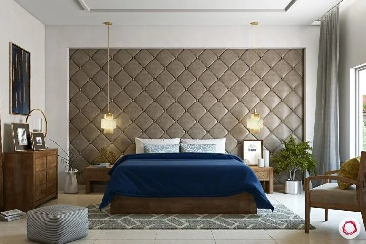 wall design tufted upholstery