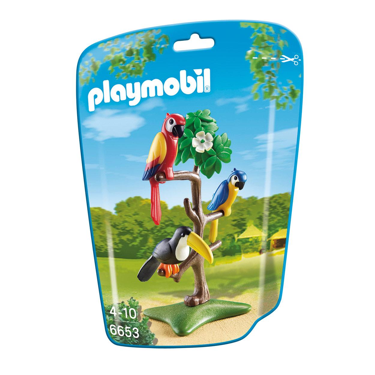 Playmobil 6653 Papegaaien online kopen  Lobbesnl