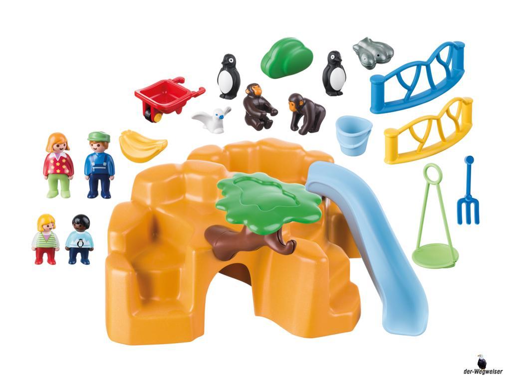 Playmobil 1 2 3 Zoo Birsfelden