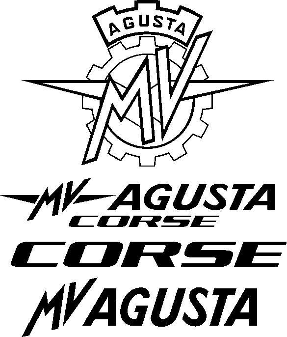 Mv Agusta Brutale Decals