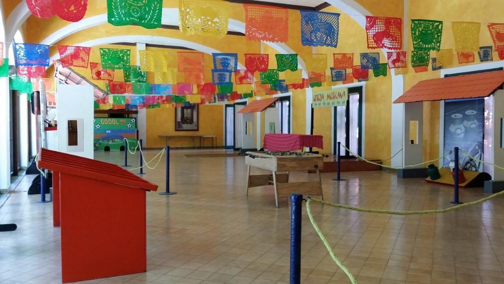 Fiesta Mexicana al estilo kermese con Juegos y puestos de