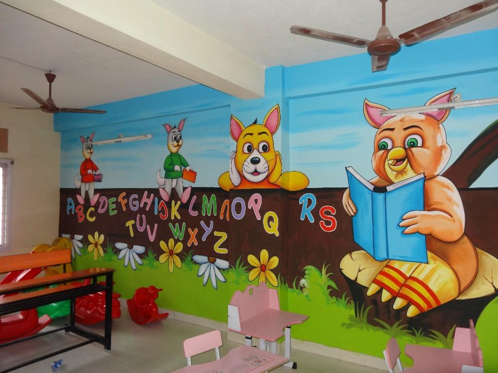 Play School Painting Amp Cartoon In Hyderabad Kuktapally