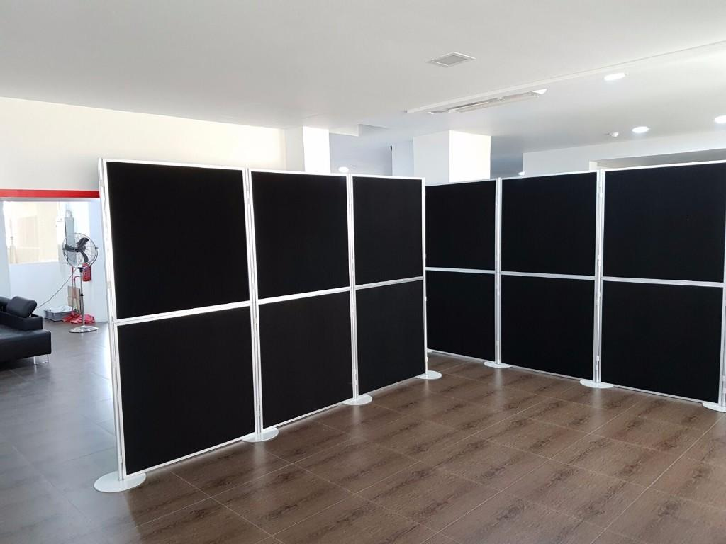 Portable Panel for event Instant foldable Panel Partition Singapore