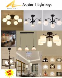 LED Ceiling Lights, Pendant Lights by Aspire Lightings