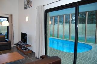 Villa architecte construction 2010 piscine interieure chauffee 250 m plage 12847001