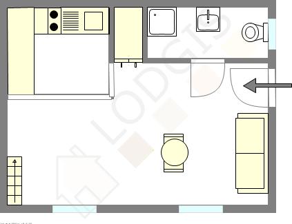 plan appartement 25m2