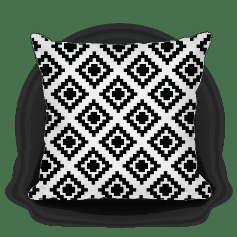 tribal diamond pattern pillows lookhuman