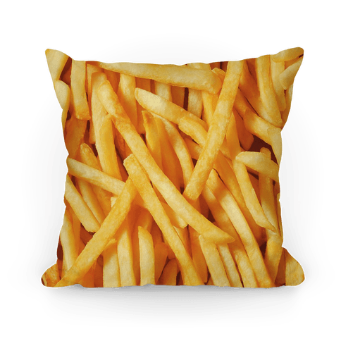 french fries pillows lookhuman