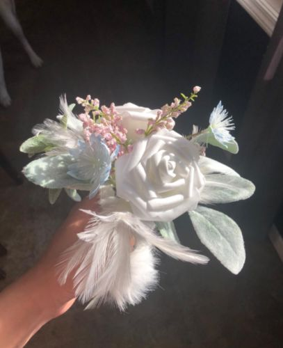 foam rose with stem