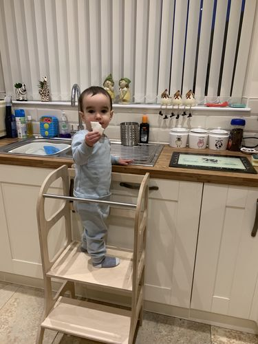 toddler step stool kitchen helper tower