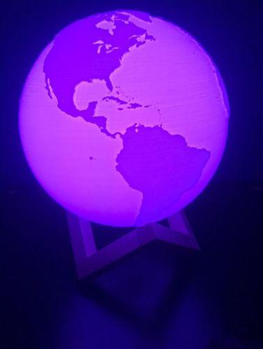 Globu Pamantesc Vazut Din Satelit : globu, pamantesc, vazut, satelit, Lampa, Pamantesc, Pamant, Incredible.ro