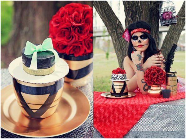 Styled Roulette Wedding Shoot