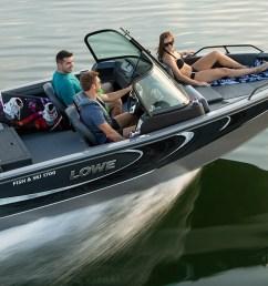 new 2019 fs 1700 aluminum fish ski boat lowe boats [ 1798 x 681 Pixel ]