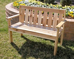 52 Outdoor Bench Plans: the MEGA GUIDE to Free Garden Bench Plans