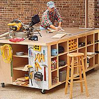 Workbench Plans Rolling Cute92zhm