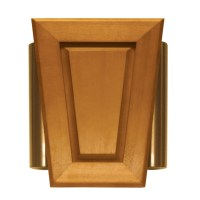Shop Heath Zenith Wired Door Chime With A Light Oak Stain ...
