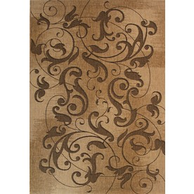 "Balta 5'3"" x 7'3"" Tan Coastal Area Rug"