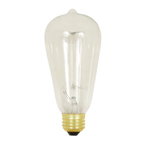 Zoomed: Feit Electric Feit 60 Watt ST19 Vintage Bulb