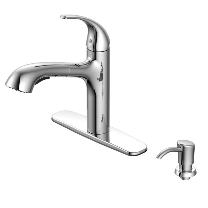 Shop Aquasource Chrome Pull Out Kitchen Faucet