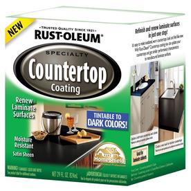 Rustoleum Countertop Paint Directions : first washed the countertops down to get any grime off, then sanded ...