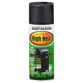 Rust-Oleum 12-oz Hi Heat Black Spray Paint