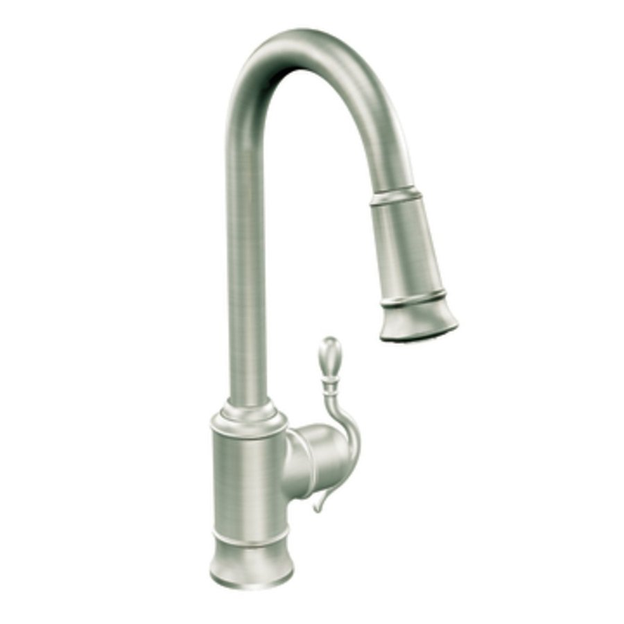 Shop Moen Woodmere Classic Stainless PullDown Kitchen