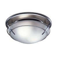 Shop Broan 2.5-Sone 80-CFM Satin Nickel Bathroom Fan with ...