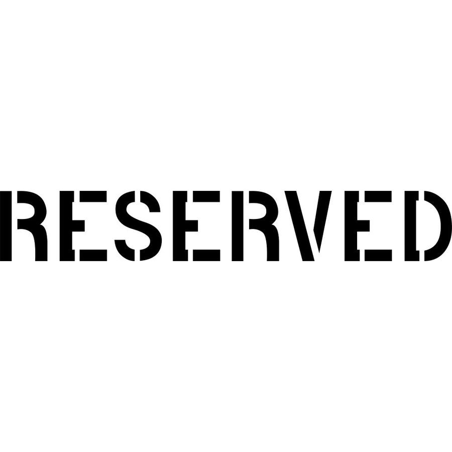 reserved signs for chairs template ball chair office stencil ease 24 sign on popscreen