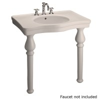 Shop Barclay Bisque Wall-Mount Rectangular Bathroom Sink ...
