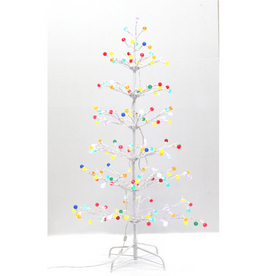 Holiday Living 5' Gumdrop Artificial Tree with Multicolor LED Lights