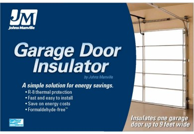 Johns Manville R 8 Garage Door Insulation Panel Kit
