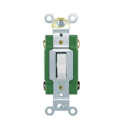 shop cooper wiring devices 30amp ivory double pole light switch at [ 900 x 900 Pixel ]