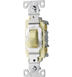 shop cooper wiring devices 20amp almond single pole light switch at [ 900 x 900 Pixel ]