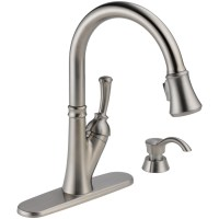 Shop Delta Savile Stainless 1-Handle Pull-Down Kitchen ...