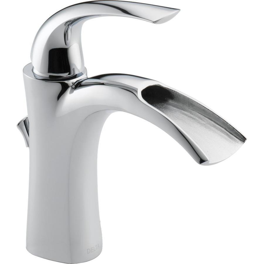 Shop Delta Nyla Chrome 1Handle Single Hole WaterSense