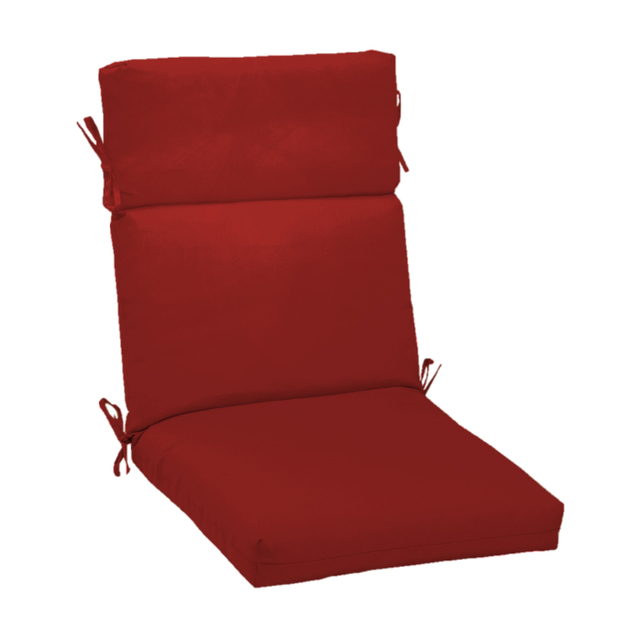 Shop Red Standard Patio Chair Cushion at Lowescom