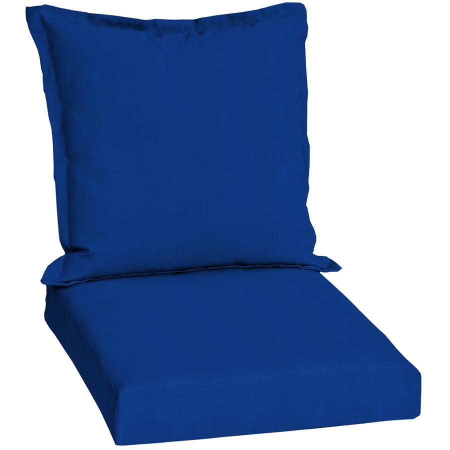 Shop Pacific Blue Standard Patio Chair Cushion at Lowescom