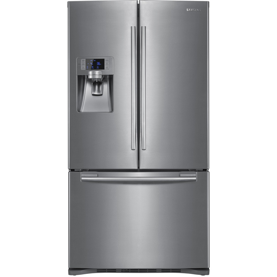 Shop Samsung 225cu Ft French Door Refrigerator With Dual