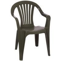 Shop Adams Mfg Corp Earth Slat Seat Resin Stackable Patio ...