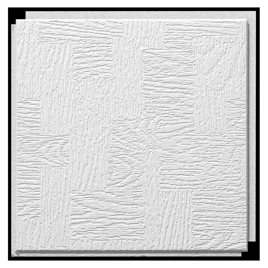 "Shop Armstrong 12"" x 12"" HomeStyle Glenwood Ceiling Tile"