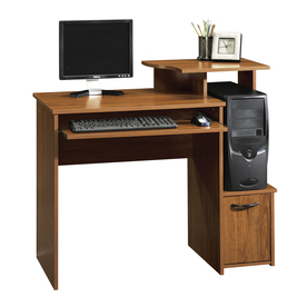 Shop Sauder Beginnings Pecan Computer Desk at Lowescom
